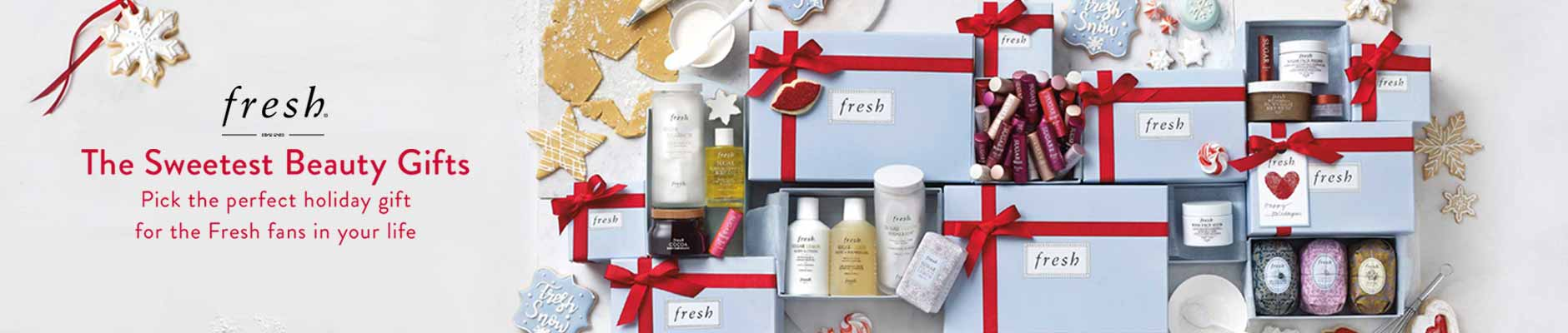 Fresh - the sweetest beauty gifts, pick the perfect holiday gift for the fresh fans in your life