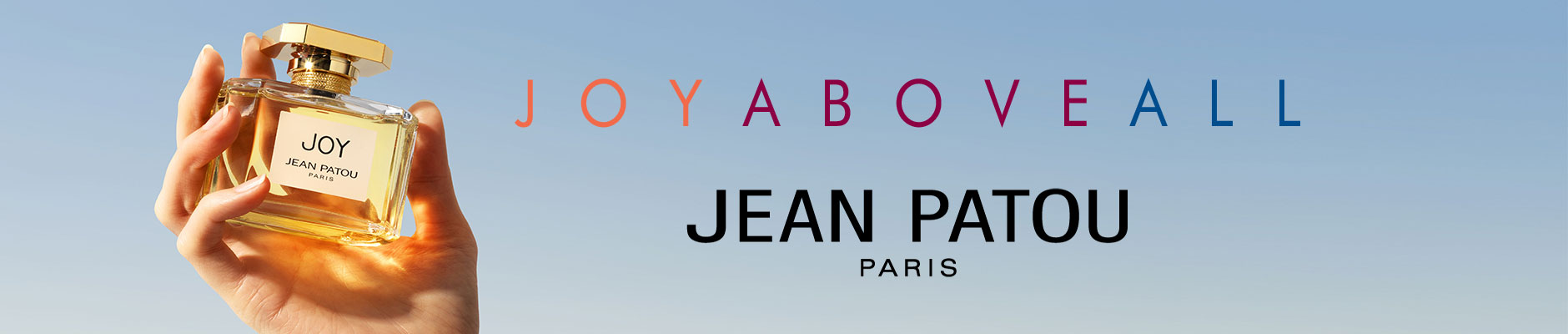 Joy above all - Jean Patou - Paris