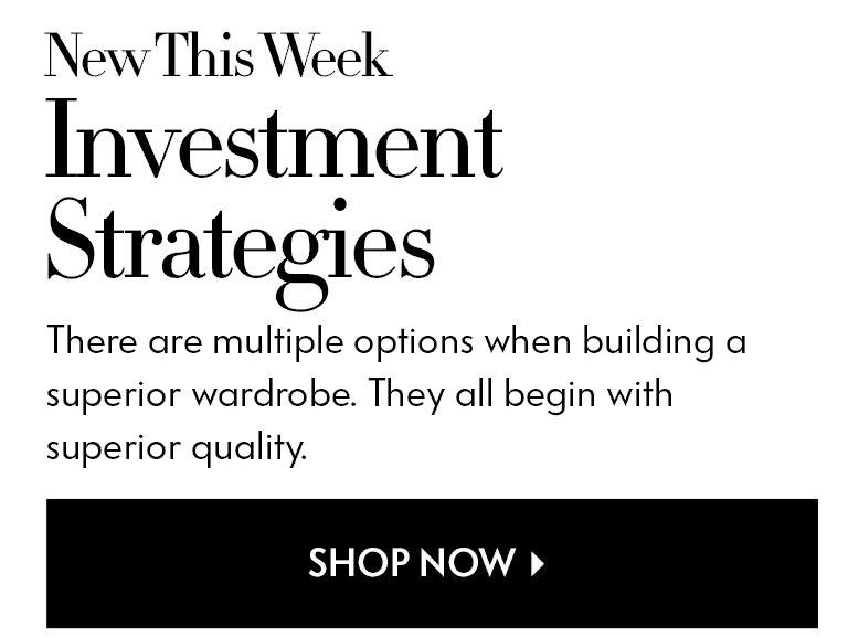 New This Week - Investment Strategies