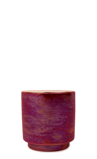 Paddywax Cranberry Rose Ceramic Candle
