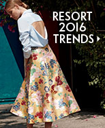 Resort 2016 Trends