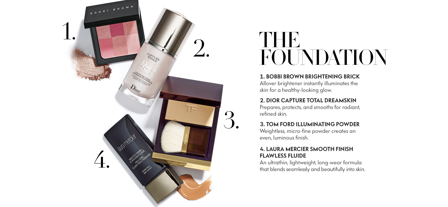 Beauty Six Steps Foundation Lookbook