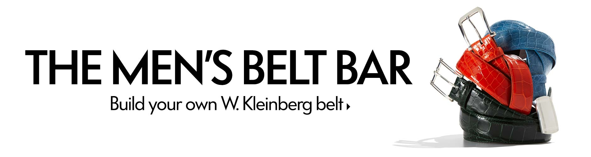 The Men's Belt Bar