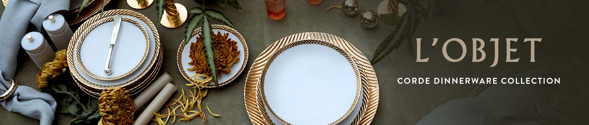 L'Objet - Corde Dinnerware Collection