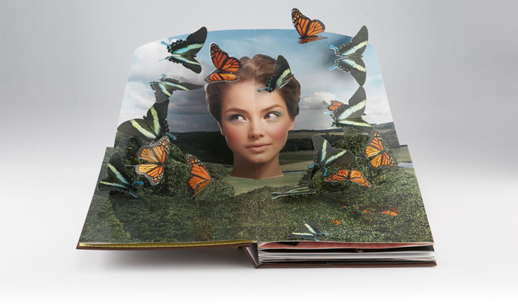 Pop Up Book At Neiman Marcus