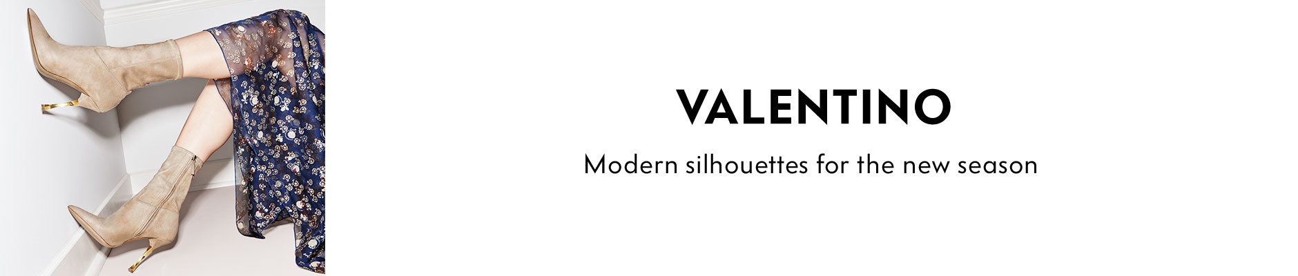 Valentino - Modern silhouettes for the new season