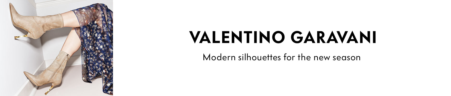 Valentino Garavani - Modern silhouettes for the new season