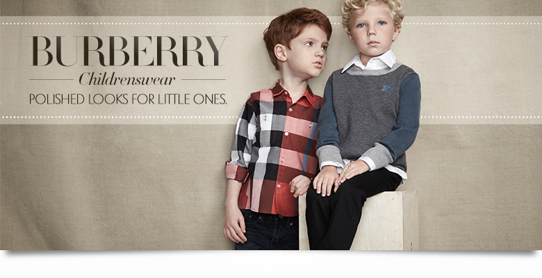 Kids Burberry Lookbook