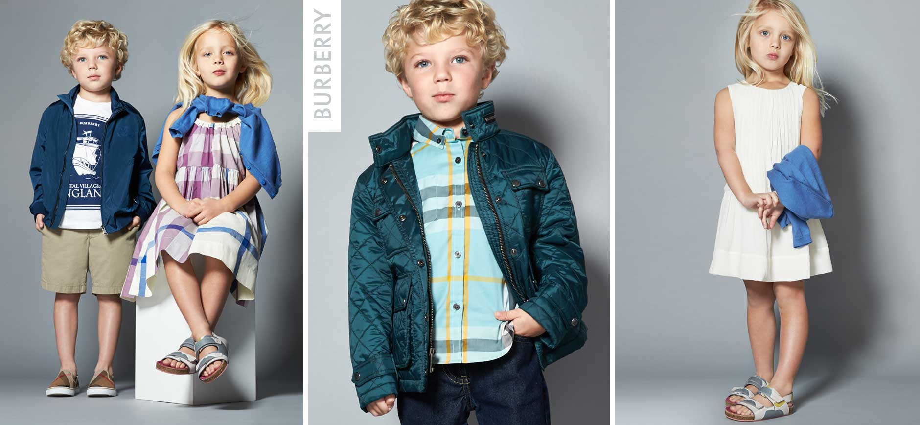 Burberry Kids Lookbook