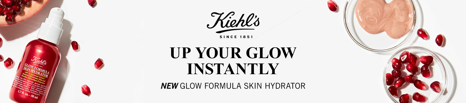 Kiehl's Since 1851: Up your glow instantly - New glow formula skin hydrator