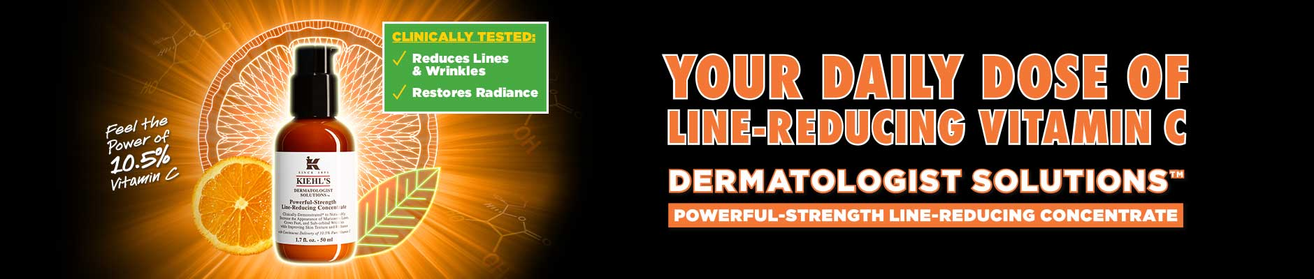 Your Daily Dose Of Line-Reducing Vitamin C: Dermatolofist Solutions - Powerful-Strength Line-Reducing Concentrate