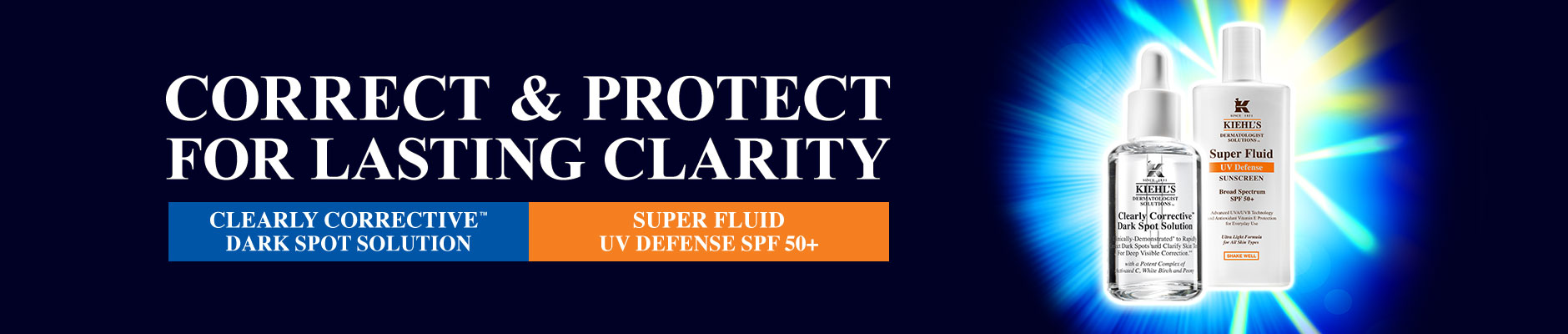 Correct & Protect For Lasting Clarity