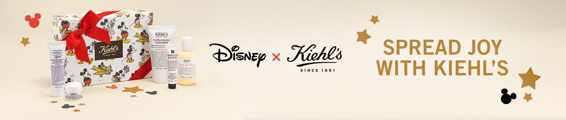 Disney x Kiehl's Since 1851 - Spread Joy With Kiehl's