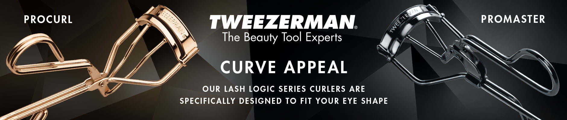 Tweezerman: The Beauty Tool Experts - Curve Appeal. Our lash logic series curlers are specifically designed to fit your eye shape