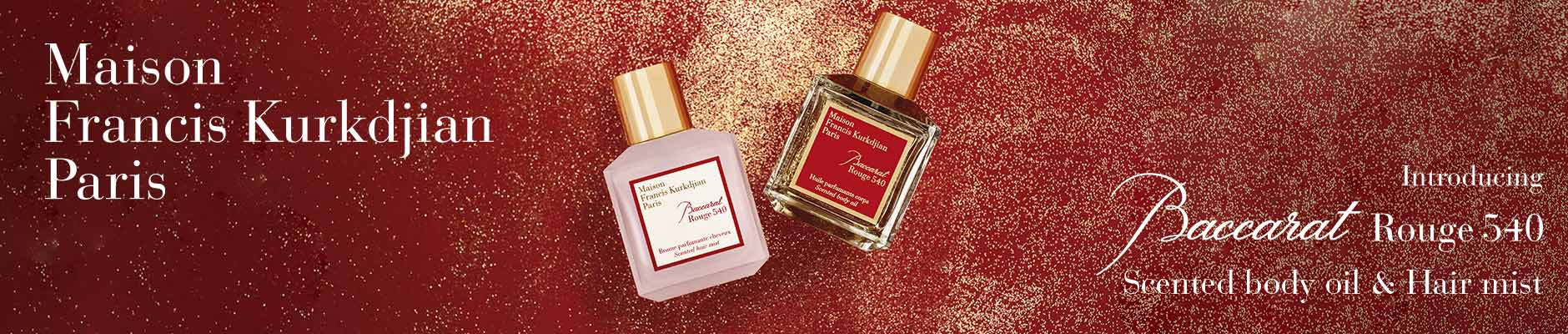 Maison Francis Kurkdjian Paris - Introducing Baccarat Rouge 540, scented body oil & hair mist