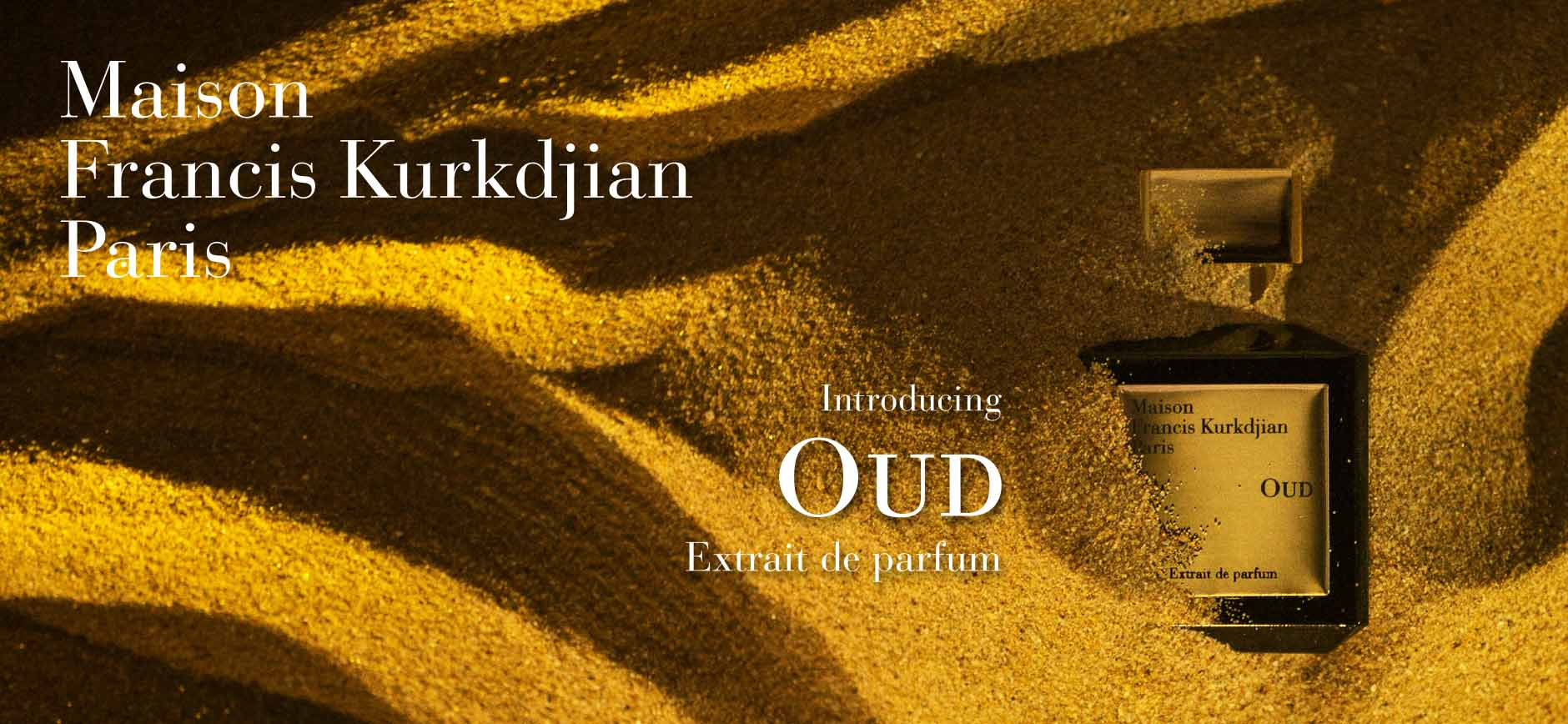 Maison Francis Kurkdjian Paris: Introducing Oud Extrait de parfum
