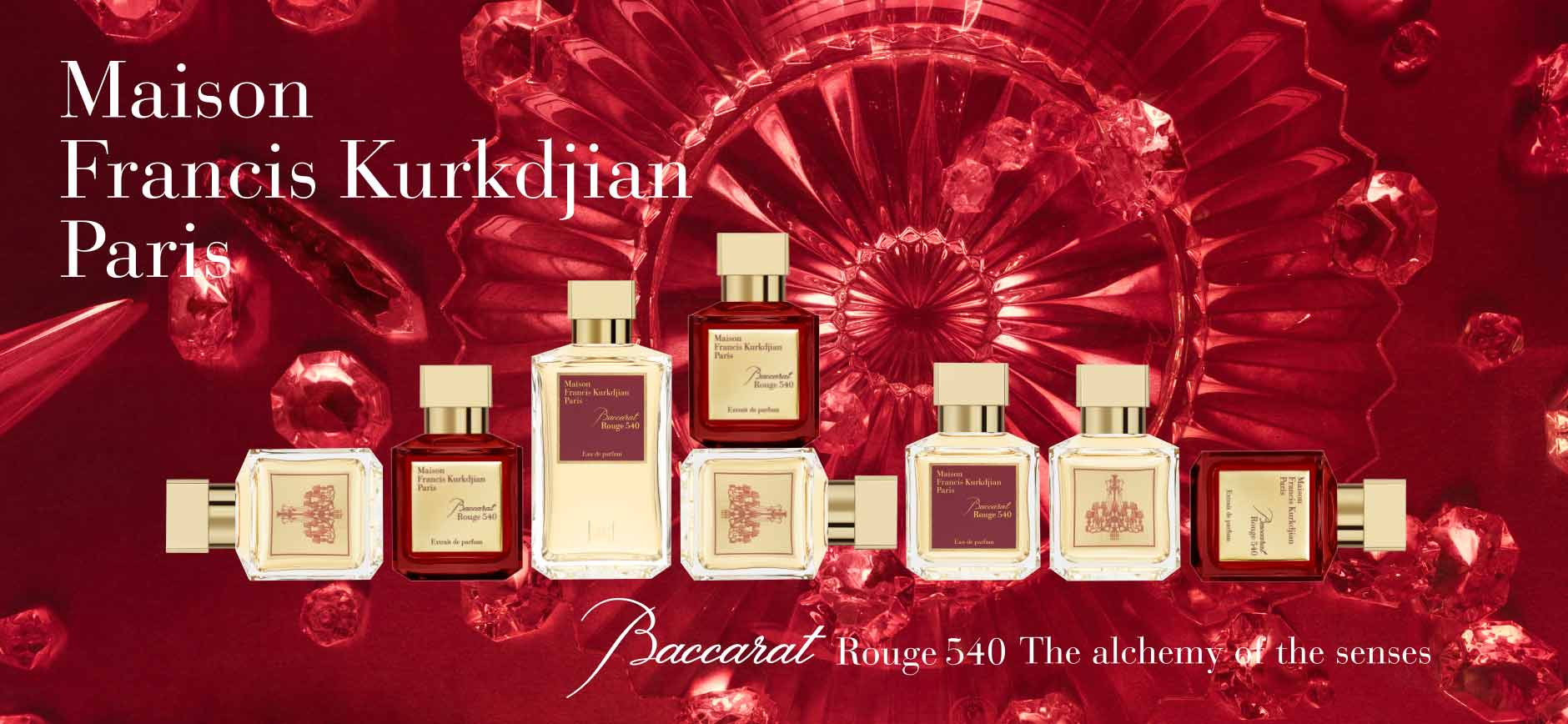 Maison Francis Kurkdjian Paris: Baccarat Rouge 540 The alchemy of the senses