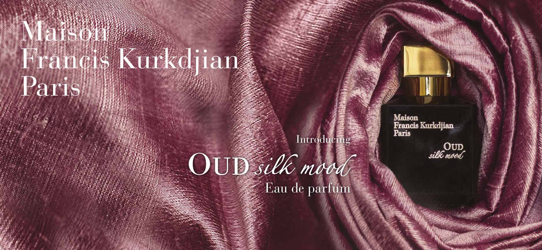 Maison Francis Kurkdjian Paris: Introducing Oud silk mood - Eau de parfum