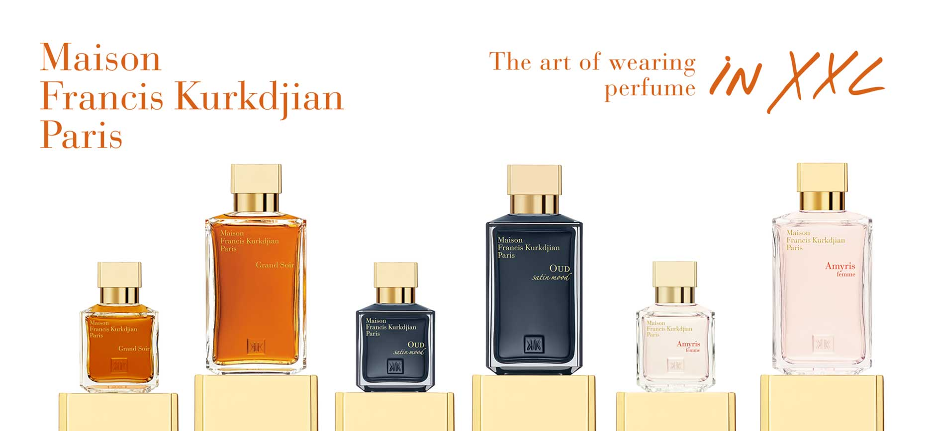 Maison Francis Kurkdjian Paris: The art of wearing perfume in XXL