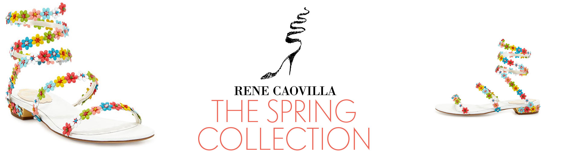 Rene Caovilla: Spring Collection