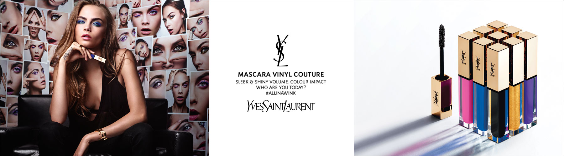 Yves Saint Laurent: Mascara Vinyl Couture - Sleek & Shiny Volume Colour Impact