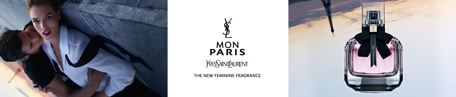 Mon Paris: Yves Saint Laurent - The new feminine fragrance