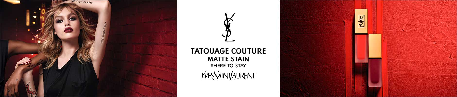 Tatouage couture matte stain, #here to stay, Yves Saint Laurent