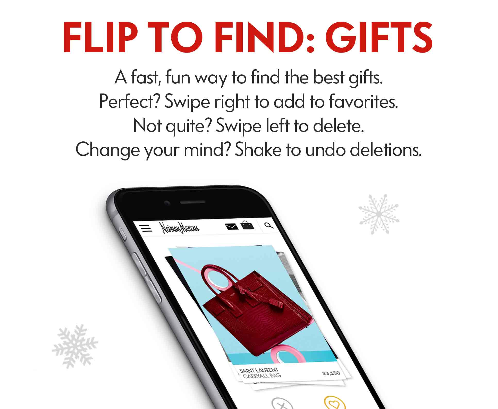 NM App Flip To Find Gifts