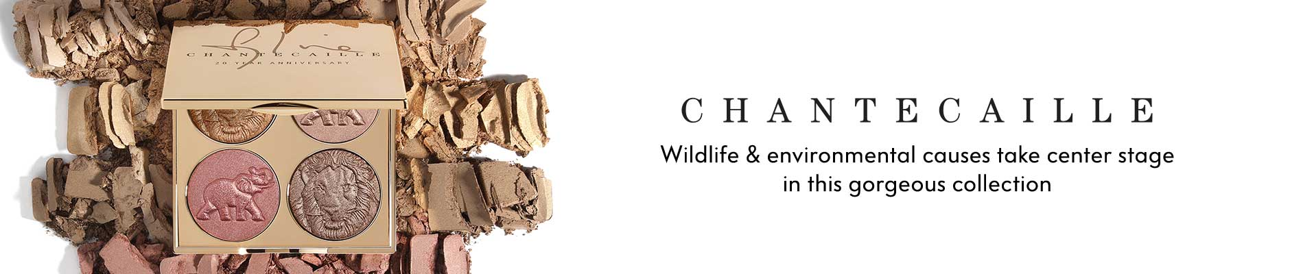 Happy Birthday Chantecaille! Wildlife & environmental causes take center stage in this gorgeous collection