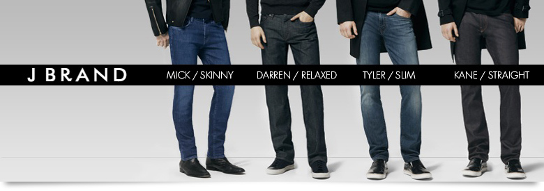 Men's Denim: J Brand