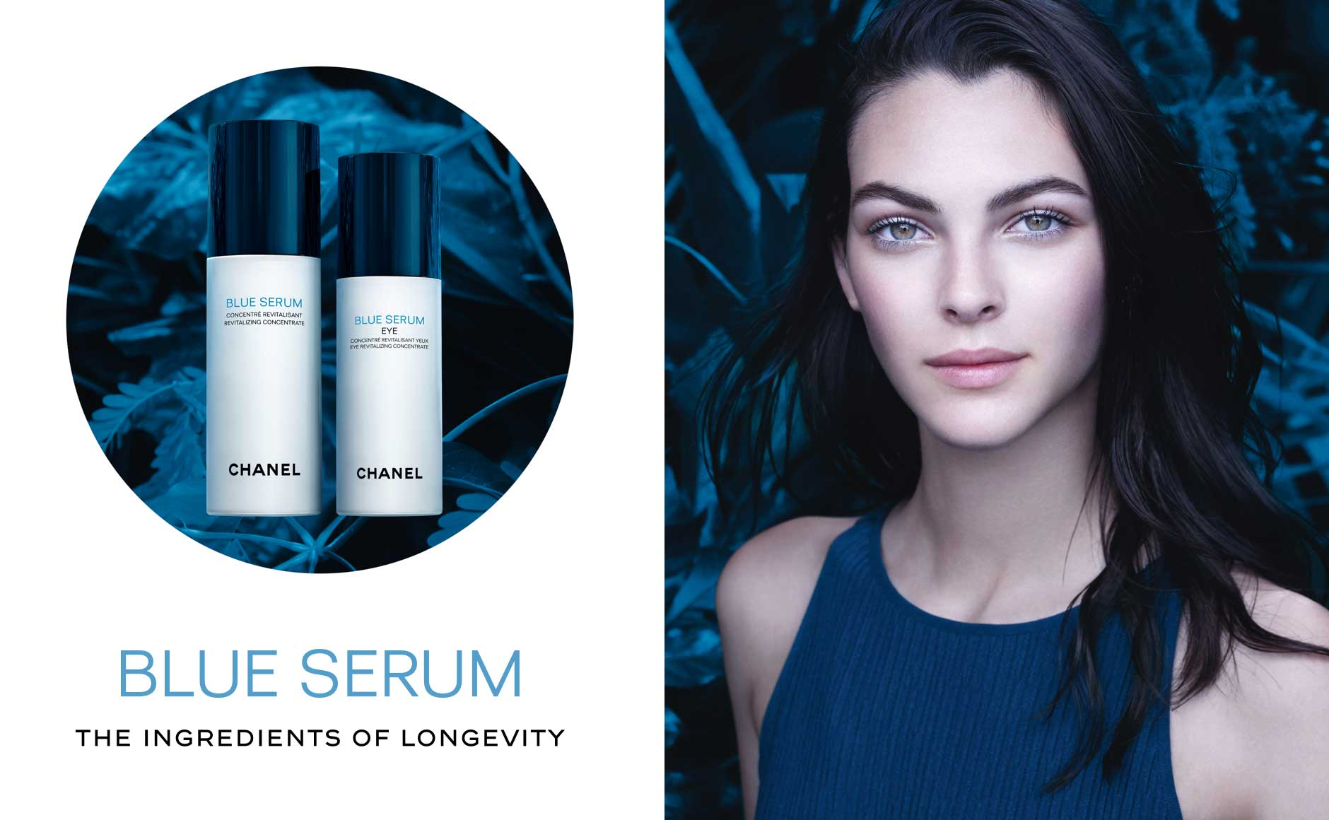 Blue Serum - The Ingredients of Longevity