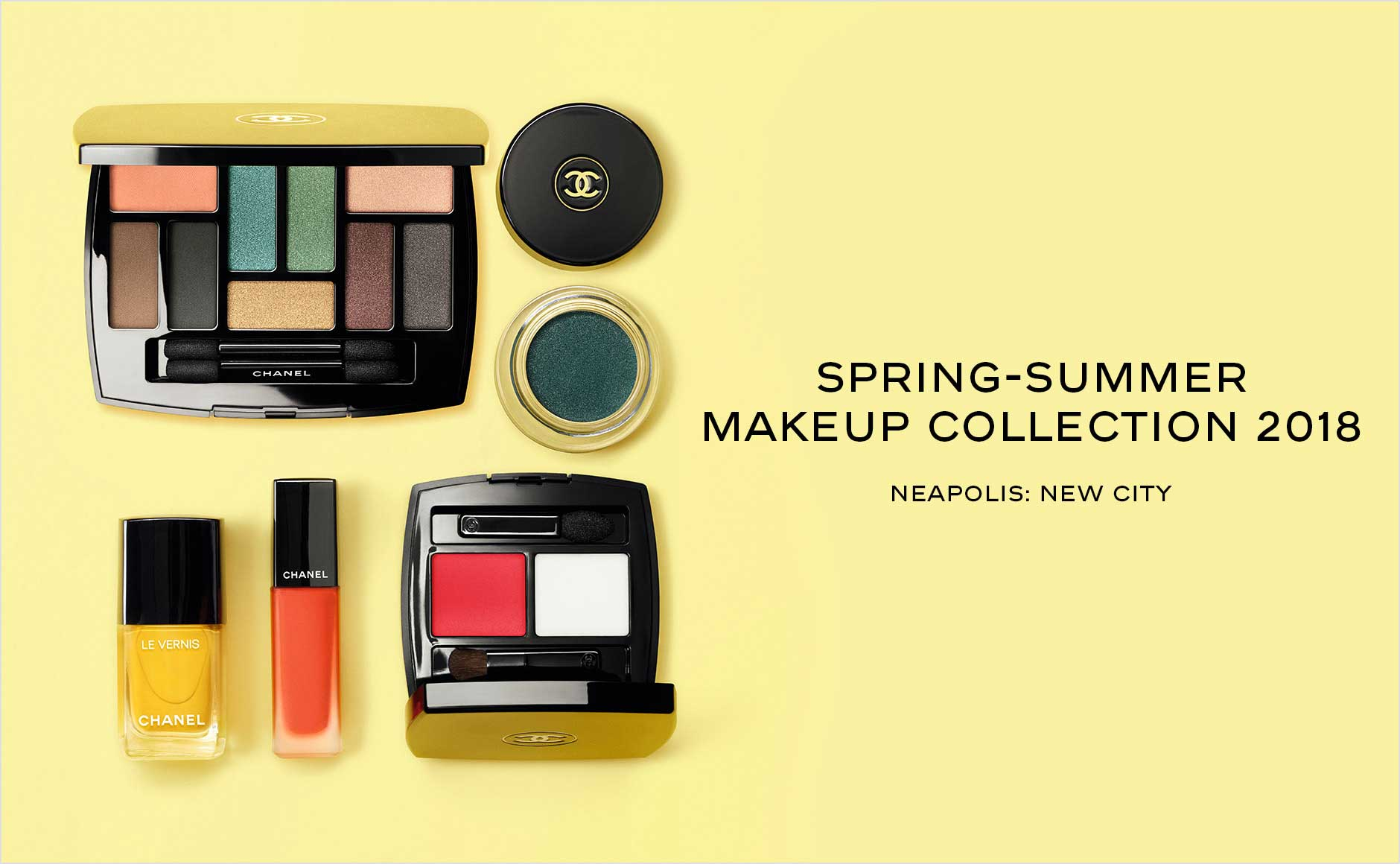 Spring-Summer Makeup Collection 2018 - Neapolis: New City