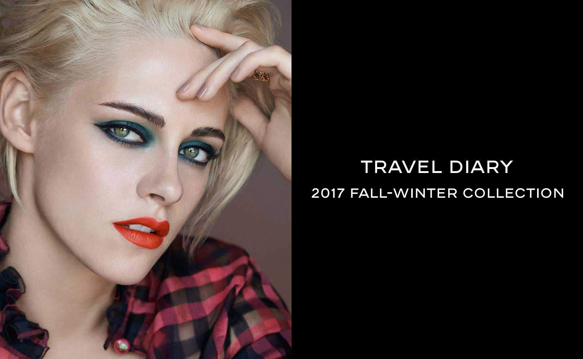 Travel Diary - 2017 Fall-Winter Collection