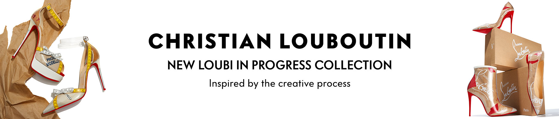 Christian Louboutin: New Kraft Collection - Shoes inspired by the creative process