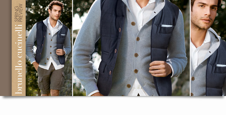 Burnello Cucinelli: Spring Preview