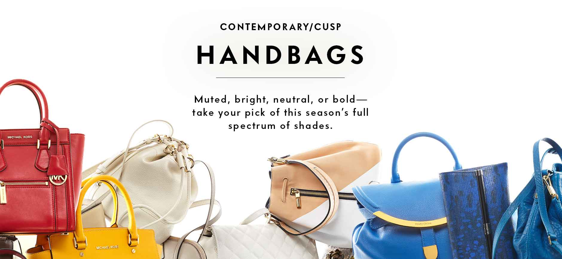 Contemporary Handbag Lookbook