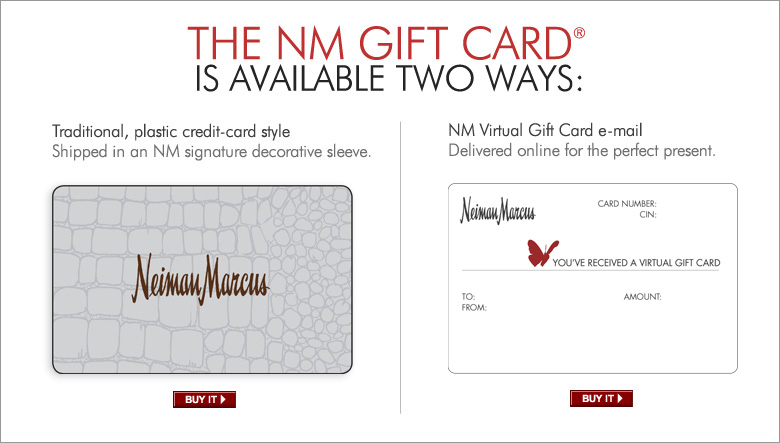 nm gift cards - gift ideas