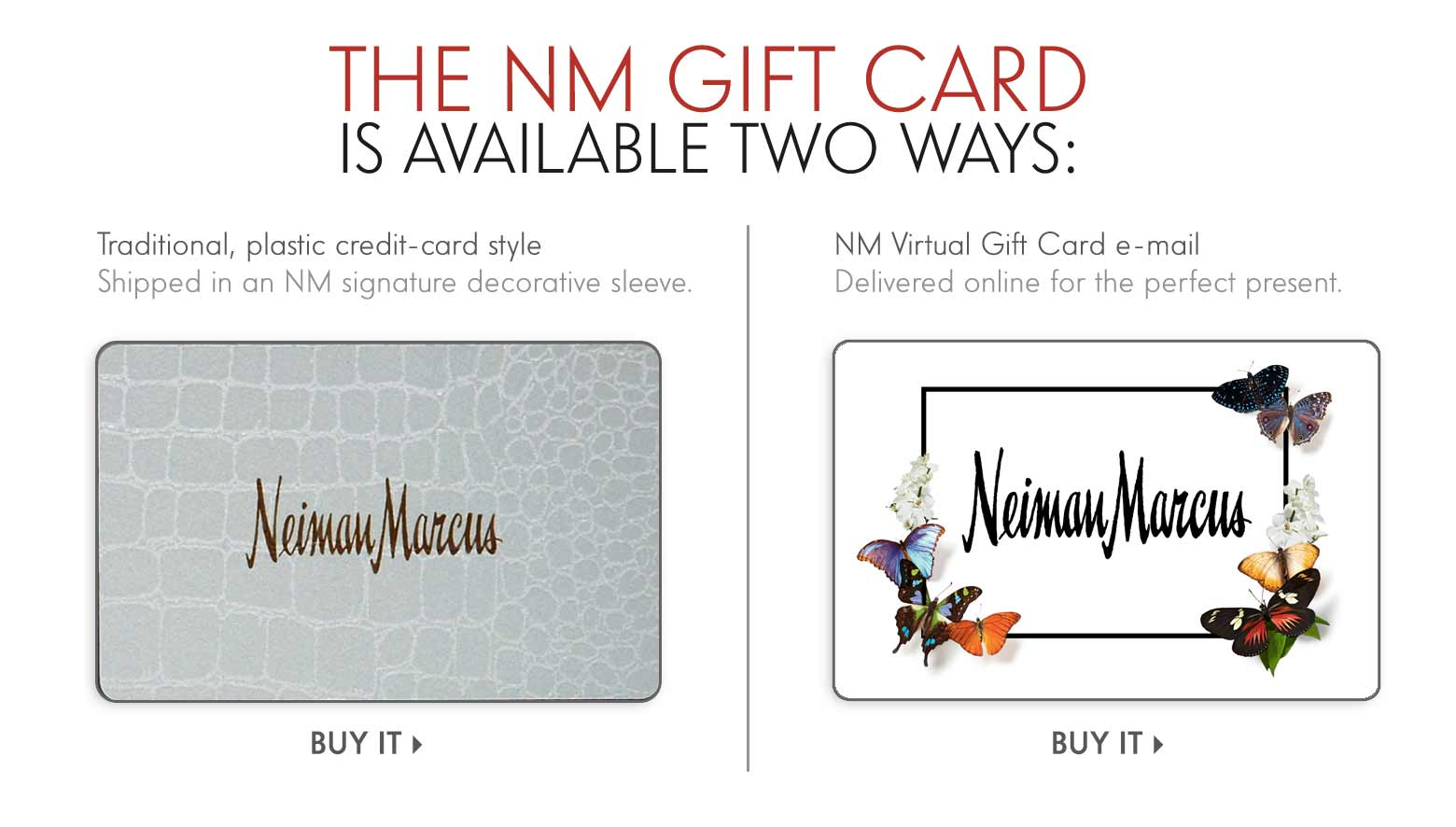 Neiman Marcus Wedding Gifts: NM Gift Cards & Ideas At Neiman Marcus