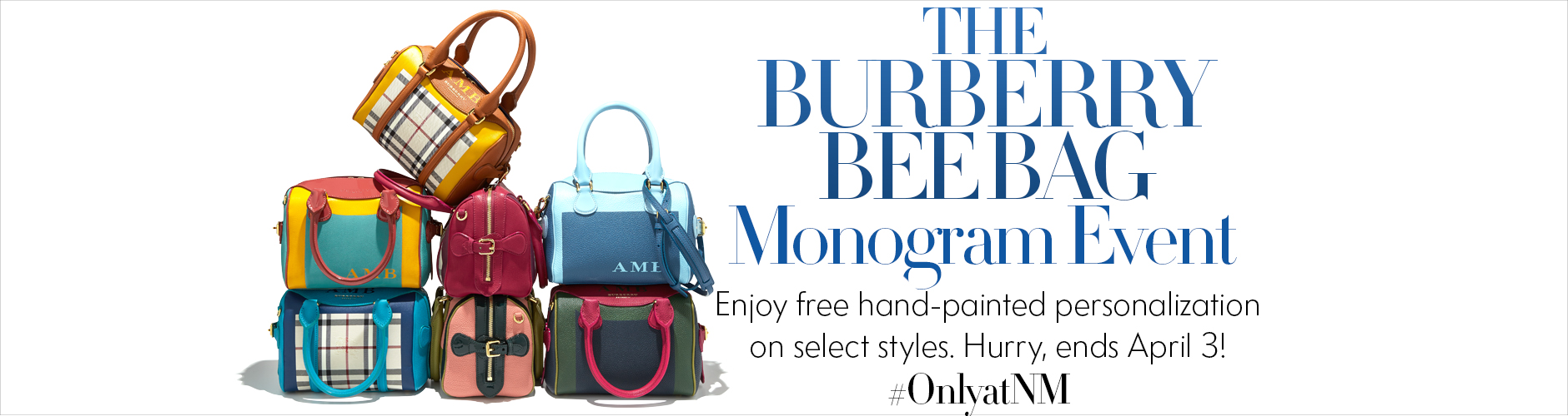 Burberry Bee Monogram Event