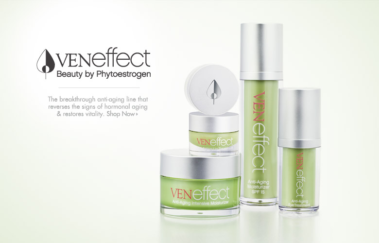 VENeffect: The breakthrough anti-aging line that reverses the signs of hormonal aging & restores vitality.