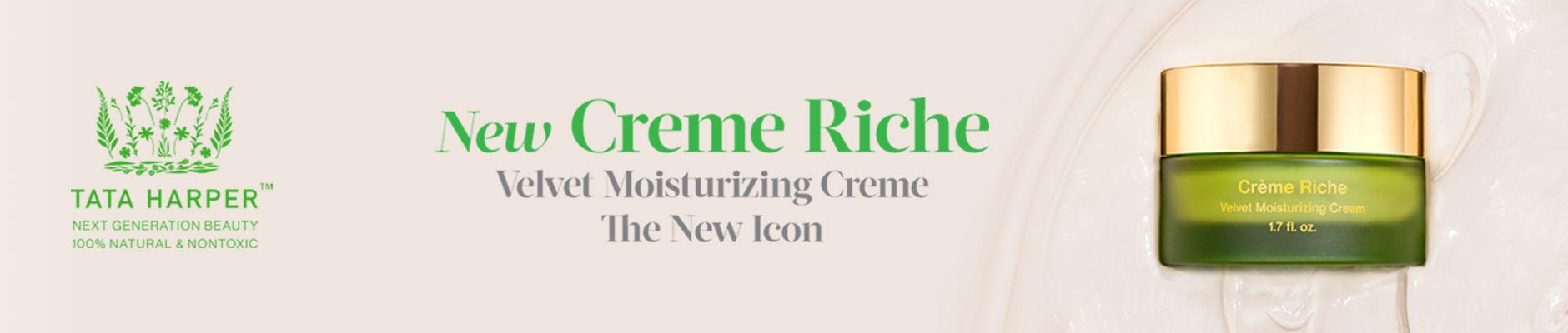 New Creme Riche: Velvet Moisturizing Creme - The New Icon
