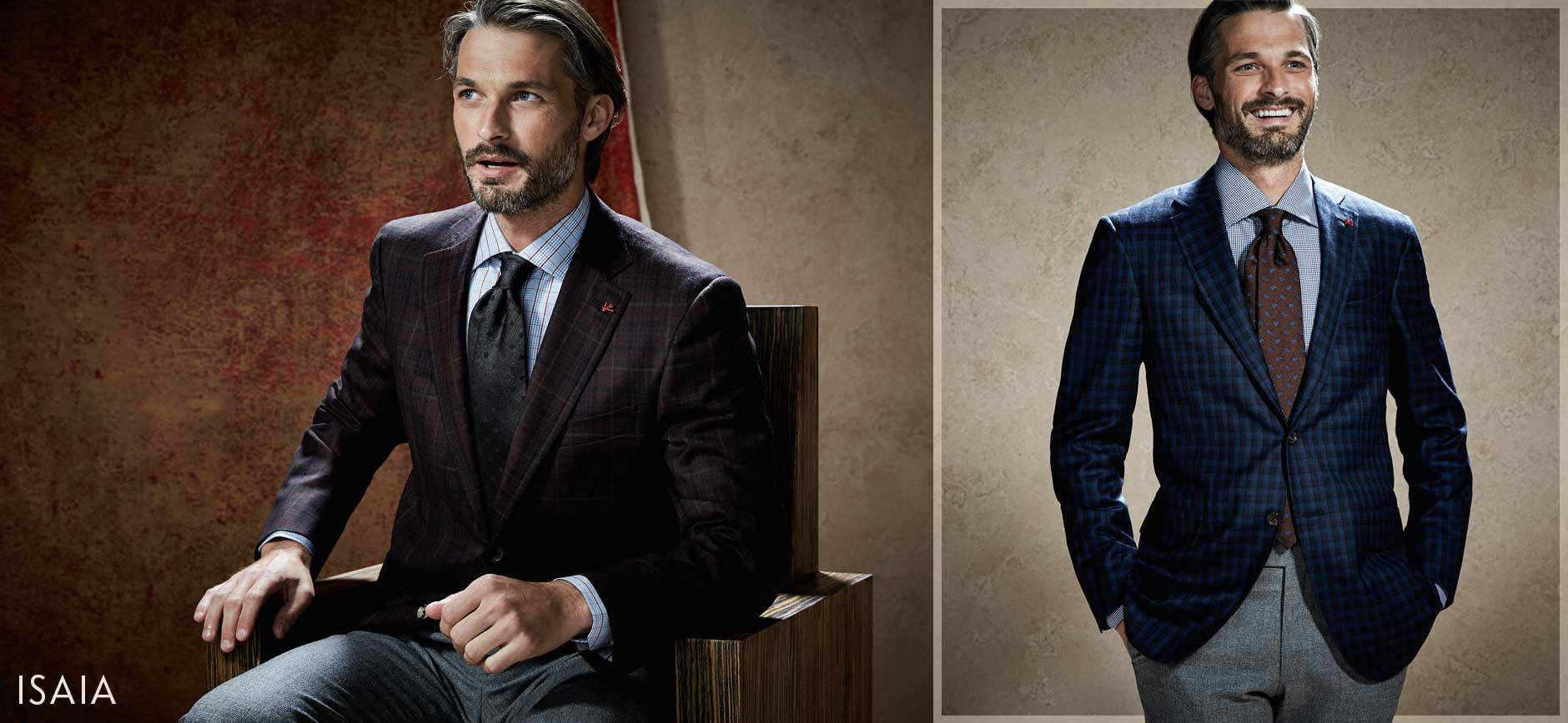 Isaia Suits, Sport Coats & Jackets at Neiman Marcus