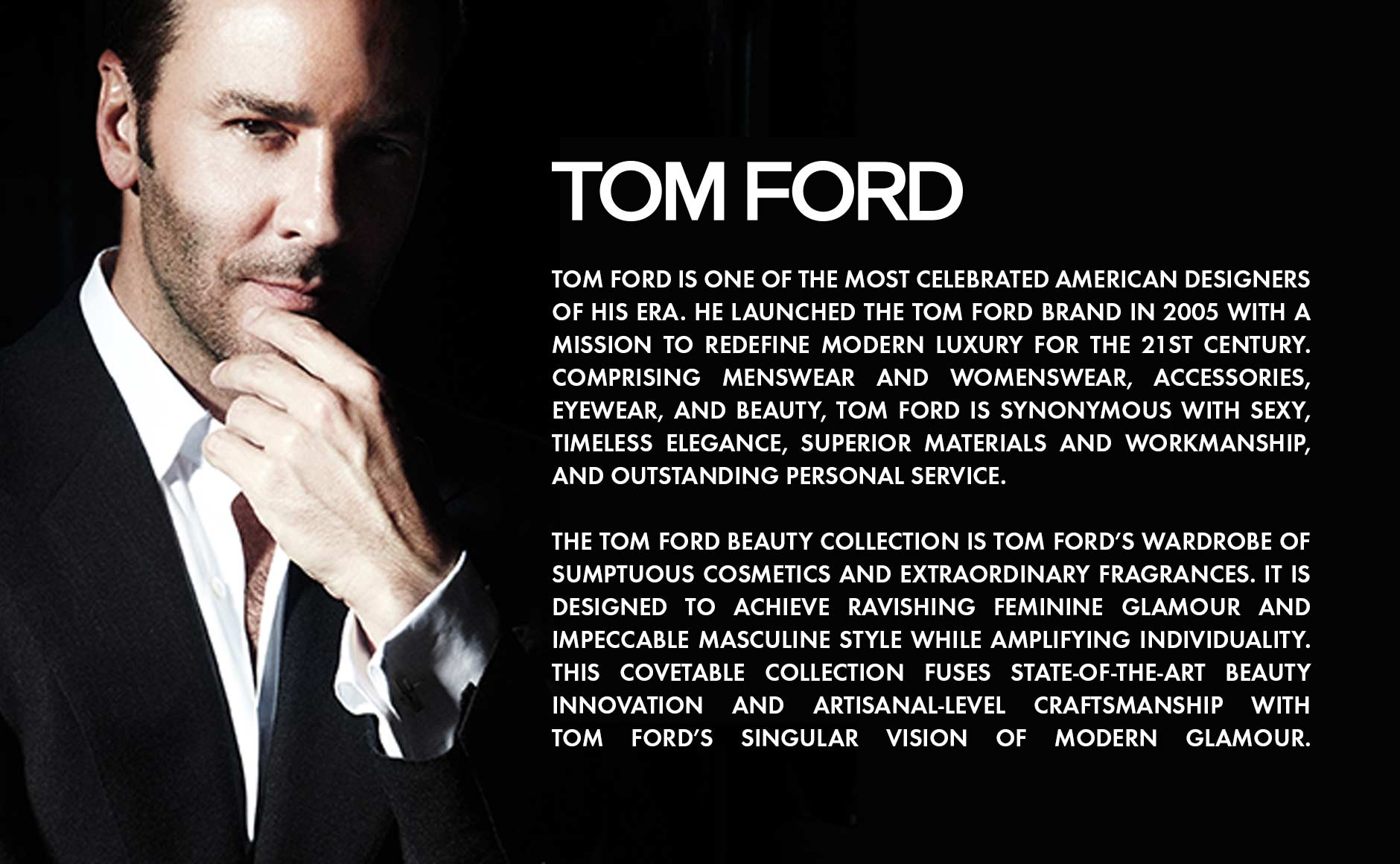 tom ford biography who is tom ford about tom ford neiman marcus. Black Bedroom Furniture Sets. Home Design Ideas