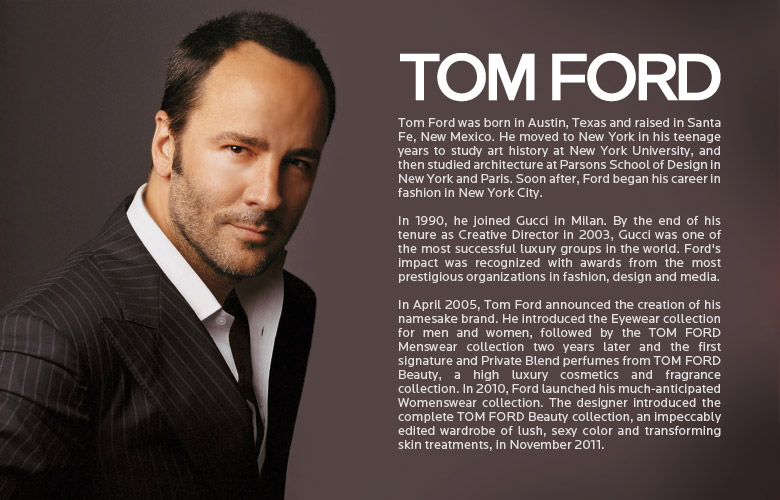 About Tom Ford