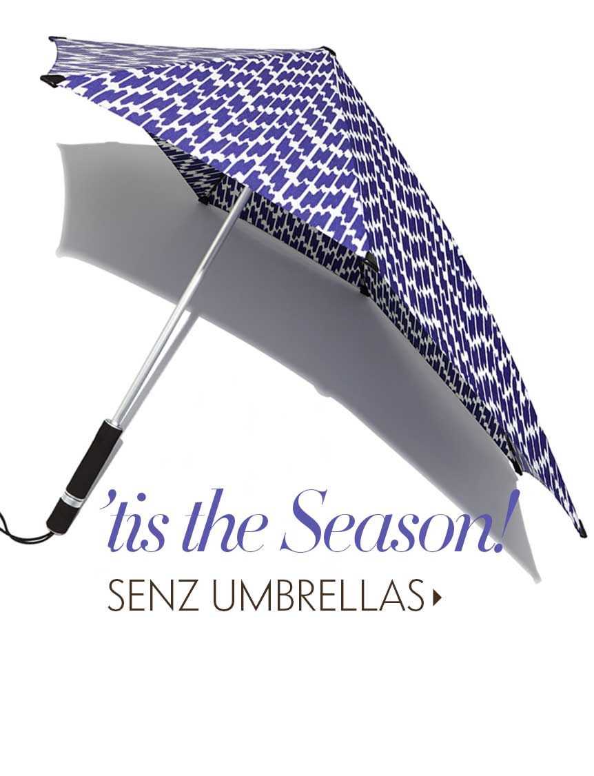 Senz Umbrellas: April Showers