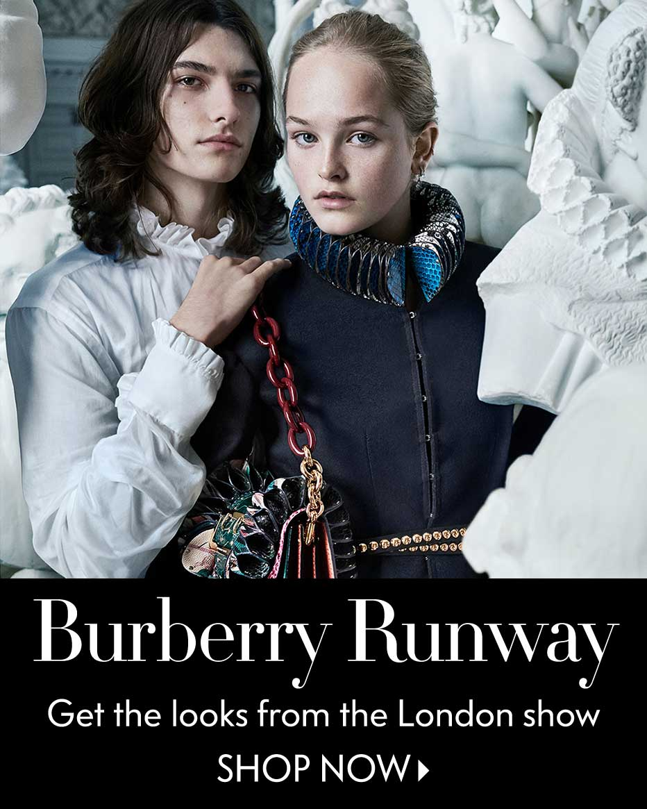 Burberry Runway - Get the looks from the London show