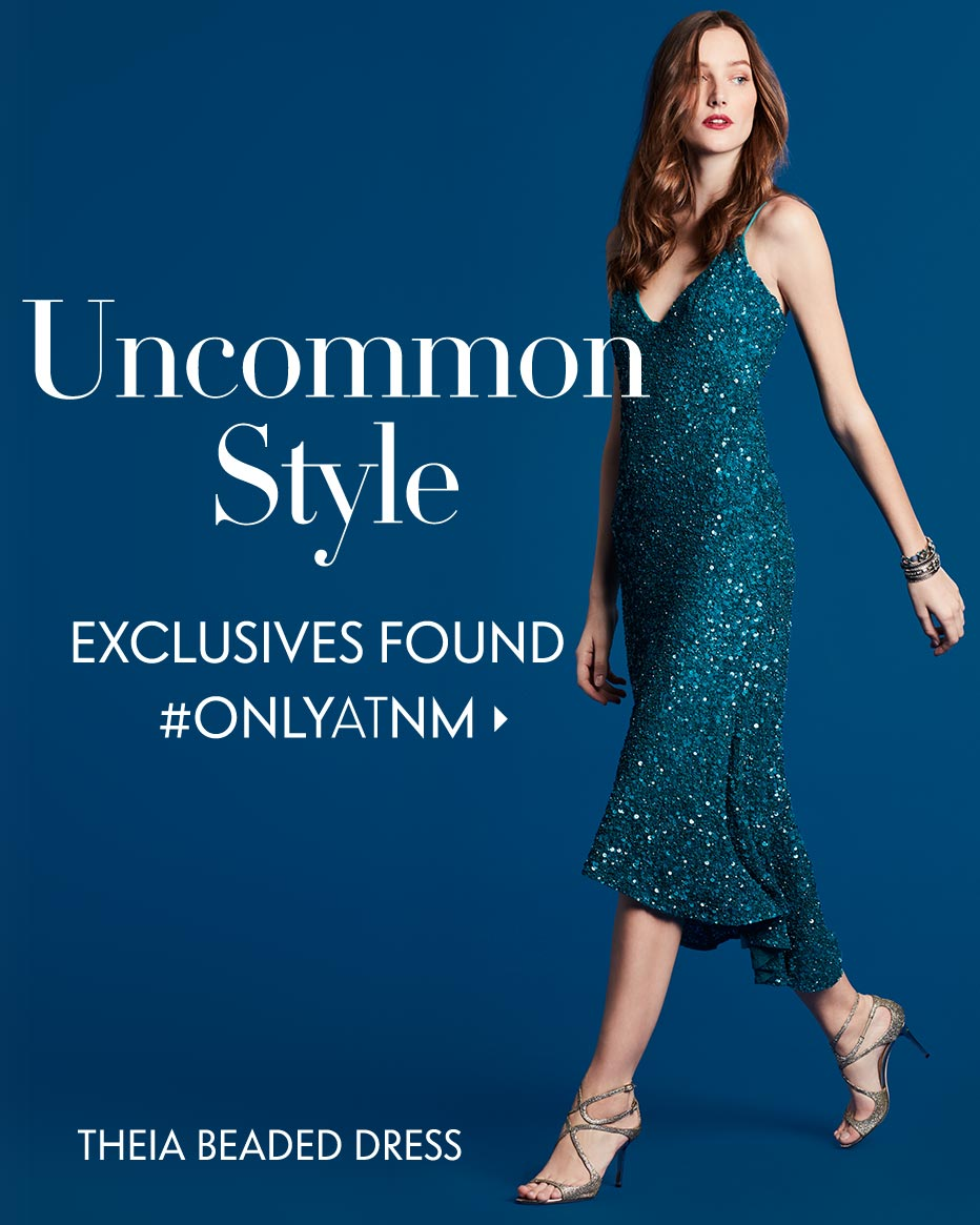 Uncommon Style: Exclusives Found #ONLYATNM - Theai Beaded Dress