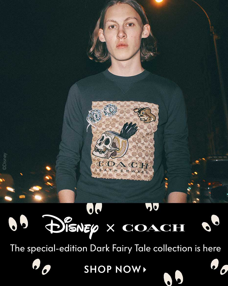 Disney x Coach - The special-edition Dark Fairy Tale collection is here
