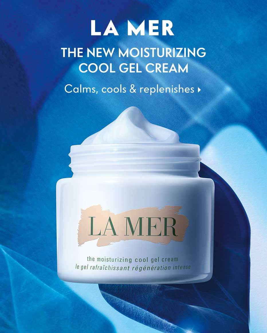 La Mer: The New Moisturizing Cool Gel Cream - Calms, cools & replenishes