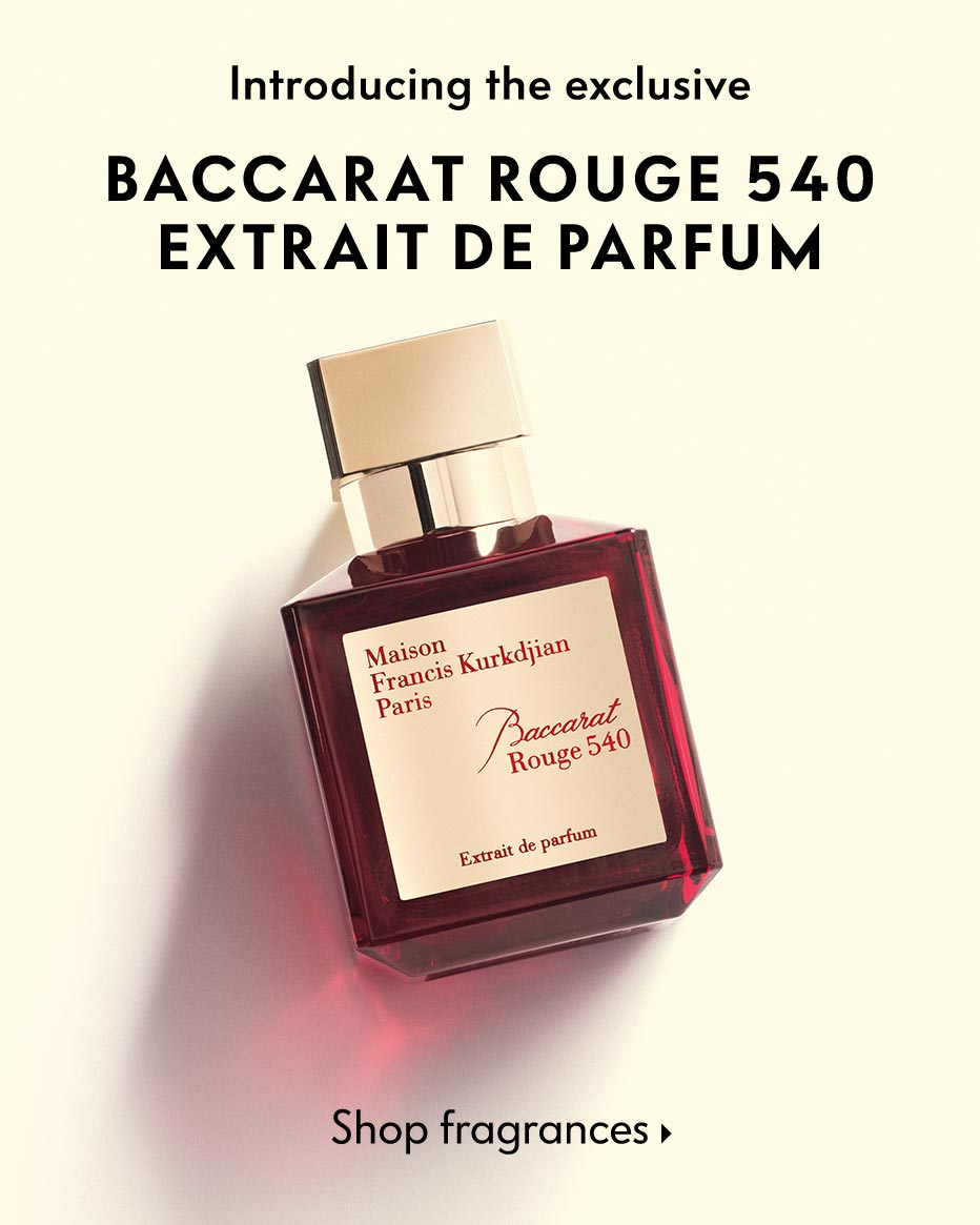 Introducing the exclusive Baccarat Rouge 540 Extrait De Parfum - A more intensive take on the favorite fragrance